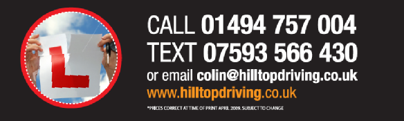 Contact numbers for - Hilltop Driving Lessons Tring